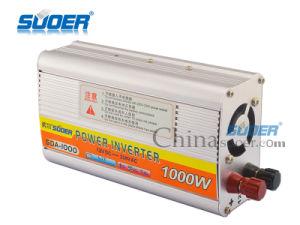 Convertidor de energía solar de 1000W Onda senoidal modificada Inversor de potencia para uso doméstico (SDA-1000A)