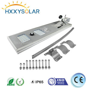 6W-120W alle in einem Solar-LED-Straßenlaternemit 5 Jahren Garantie-