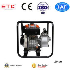 3  pompe à eau avec 7hp moteur Diesel (grand réservoir)