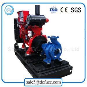 Singola pompa ad acqua di aspirazione del motore diesel per la pianta