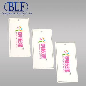 Бумага для печати CMYK повесить одежду метки (BLF-T021)