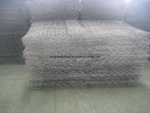 Médios Gabions galvanizados a quente de 240g de zinco em Alta