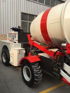 Self-Loading Mobiele Vrachtwagen van de Concrete Mixer met Kipwagen