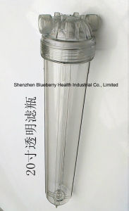 custodia di filtro dell'acqua 20inch con il doppio giunto circolare e la protezione dal rischio di esplosione Qy-20h-C