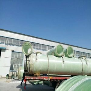 De Samengestelde Chemische Tank van de Stookolie van de Tank van de Opslag FRP GRP