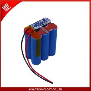 再充電可能な李イオン電池のパック: PCM 4Aとの11.1V 4.8ah