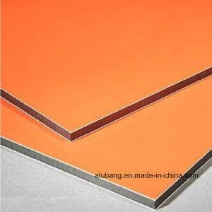 La publicidad de poliéster de avanzados materiales de construcción de hoja de compuesto de aluminio