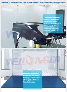 Cabina di spruzzo basso dell'acqua del Ce Wld8300 Kuwait da vendere