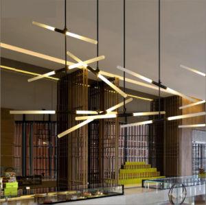 Moda e Design moderno e novo projeto Lustre Pendente de LED de iluminação para o restaurante do Hotel
