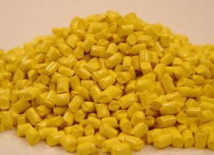 Excelente amarillo Masterbatch con el precio más barato para el soplado de película
