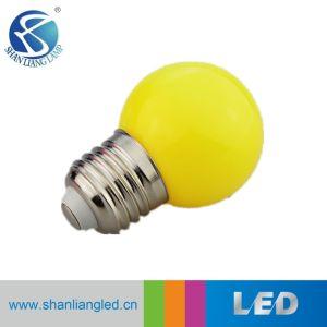 La alta calidad Buen Precio 1W Bombilla LED multicolor G45