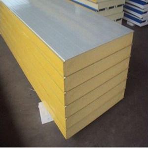 PU/panneau sandwich en polyuréthane pour toit tuile ou matériaux de paroi