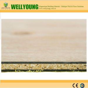 Texture en bois de la conception des tuiles Paroi en PVC pour la décoration de la chambre
