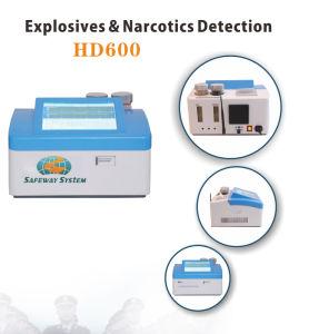 Velocidade de ensaio mais explosivos detector por traçador HD600 Detector de Bombas/Detector de explosivos
