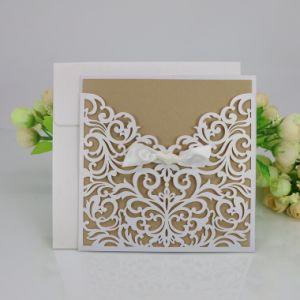 Luim het Aangepaste Afdrukken van de Kaarten van de Uitnodiging van het Huwelijk van de Kaart van de Groet