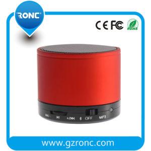 超Bluetoothの携帯用無線スピーカー、高められた低音の(赤い)スピーカー