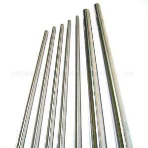 Eje lineal sólido Gcr15 acero cromado de alta precisión para Router CNC
