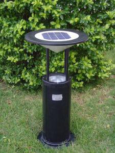 アルミニウムLEDのボラード1W太陽LEDの芝生ライト(DZ-CT-216)