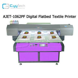 디지털은 기계를 인쇄하는 기계 검정과 Ehite DTG 의복 직물 t-셔츠 인쇄 기계 면 직물을 인쇄하는 의복 인쇄 기계 t-셔츠 직물에 지시한다