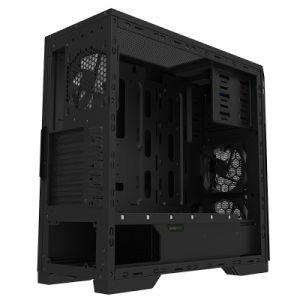 Juego completo negro RGB de la Torre Caja con ventana transparente