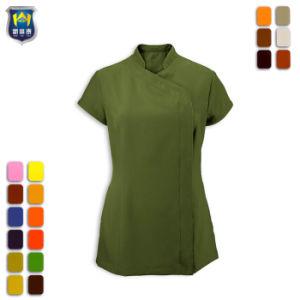 Comercio al por mayor para la mujer túnicas de algodón largo