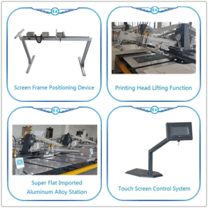 직물을%s 타원형 의복 스크린 인쇄 기계 기계
