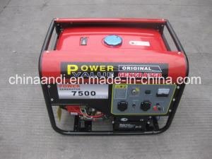 15HP는 7개 kVA 실린더를 7.5 kVA 힘 가솔린 발전기 골라낸다