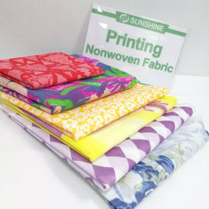 PP는 매트리스 덮개를 위한 비 길쌈한 직물을 인쇄한다