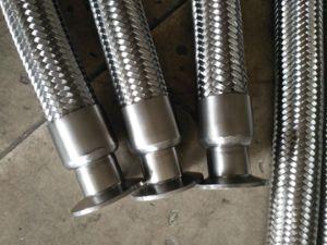 組みひもが付いている環状か平行複雑なステンレス鋼の軟らかな金属のホース