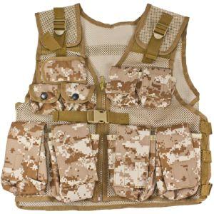 Veste protetora tática de Airsoft Paintbal da veste do combate do exército