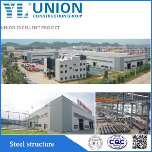 China Prefabricados de estructura de acero de bastidor de acero de la arquitectura de la construcción de la fábrica