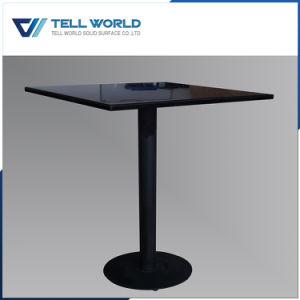 [سغس/يس9001] يوافق أبيض صلبة سطحيّة مستديرة مقهى طاولة [دين تبل]