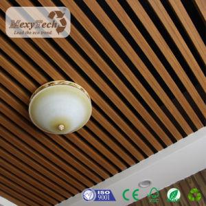Plafonds d'intérieur du Conseil de PVC panneau en bois Panneaux de plafond pour le restaurant de PVC
