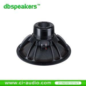 Haute puissance de 4400watts caisson de basses en néodyme 21'' Professional l'Orateur.