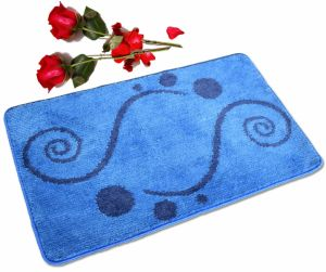 Super воды из микроволокна поглощают полиэстера с Установите противоскользящие опорной ванны коврик