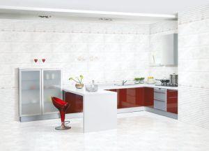 Tegel van de Muur van de Keuken van de Kleur van het Bouwmateriaal de Witte Ceramische