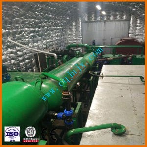 La presión negativa de los residuos de destilación de vacío mezclado el aceite usado el purificador