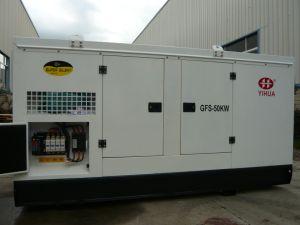 80kw angeschalten durch Dieselgenerator-Set Yuchaisilent