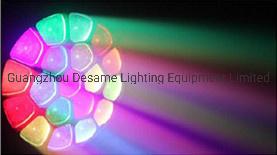 19ПК 15Вт светодиод K10 Bee глаз перемещение головки DJ этапе лампа