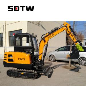 miniexcavadora 2200kg Mini excavadora de cadenas TW22