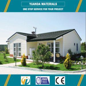 Prefabricated 반대로 지진 집 현대 조립식 강철 별장