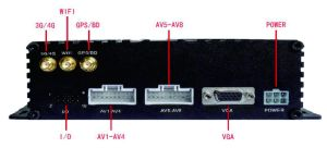 8CH Aufnahme-System CCTV-Ahd DVR für Bus-u. LKW-Gebrauch