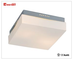 正方形のガラス装飾的なホーム使用LEDの天井の照明