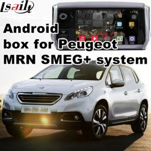 De androïde GPS Doos van het Systeem van de Navigatie voor Peugeot 208 2008 308 408 508 Navigatie van de Aanraking van de Verbetering van de Interface van Mrn Smeg+ de Video, WiFi, Mirrorlink