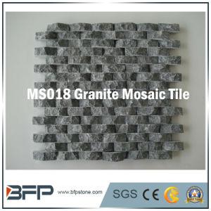Het natuurlijke Mozaïek van de Steen van het Graniet van de Steen Zwarte/Blauwe voor de Tegel van de Muur