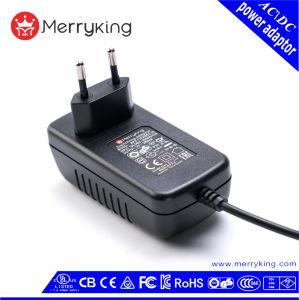 Постоянного тока регулируется ЕС разъем 6V 4.0А 4000Ма AC адаптер питания постоянного тока с маркировкой CE GS RoHS