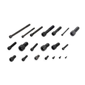 Винты с внутренним шестигранником черный азота 8,8 10,9 12,9 шестигранные винты с головкой под торцевой ключ