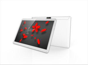 Ein 10 Zoll Vierradantriebwagen-Kern 3G Telefon-Rufen Tablette PC Schwarz-(Mehrfarben) Deckel