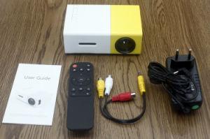Yg-300 HDMI steuern Media Player USB-Miniprojektor für Handy automatisch an
