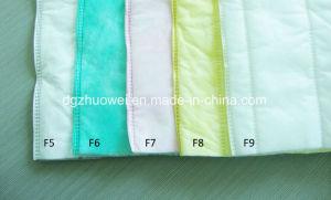 Tessuto di filtro dell'aria, media sintetici F7 di filtro dell'aria della casella del sacchetto